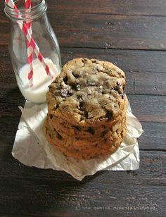 Ginger & Brown Butter Dark Chocolate Chunk Cookies | une gamine dans la cuisine