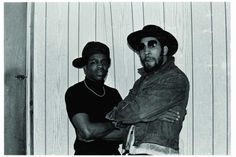 "DJ Kool Herc (right) ""The Godfather of Hip Hop"""