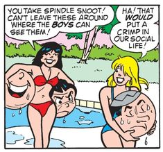 "Veronica and Betty in ""Balls of Ire"", Betty and Veronica #68 (1993)?"