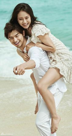 14 sizzling photos of Song Ji Hyo and Chen Bolin that would make Running Man's Gary jealous