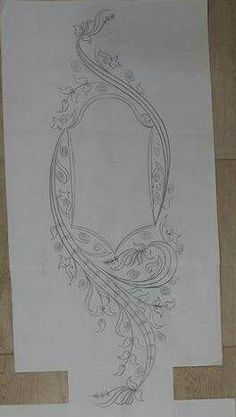 Yogurtcu Embroidery Patterns, Hand Embroidery, Handmade Baby Gifts, Designs To Draw, Textile Design, Blouse Designs, Doodles, Textiles, Couture