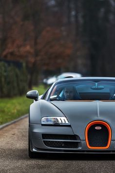 "Bugatti | Looks like the the car is saying ""ooh""!"