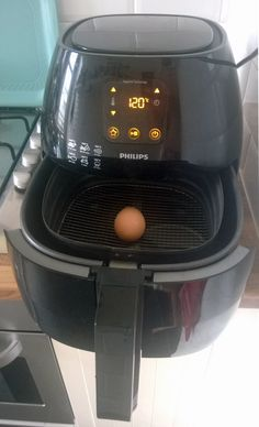 Ei in Airfryer Philips Air Fryer, Actifry Recipes, Air Fryer Recipes, Cooker, Food And Drink, Eat, Quiches, Merry, Mindfulness