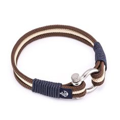 The nautical wrap bracelet is simple and elegant and can be worn with sport, smart, or casual outfits. The lock is made of stainless steel and holds the bracelet secure on your wrist, no matter what you go through. Each bracelet is hand crafted and comes packed in a pillow box along with a gift bag and a warranty valid for 30 days. Nautical wrap bracelets are unisex and suitable as both gifts for her of gifts for him.