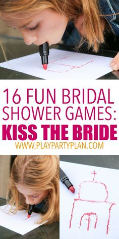 16 of the best bridal shower games ever, these look like so much fun! Third Party, Minute To Win It, New Years Eve, Craft Party, Party Games, Crafts, Party Playsuits, Handmade Crafts, Craft