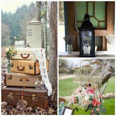 Rustic Outdoor Wedding Decorations