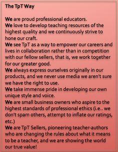 Proud to be a Teachers Pay Teachers seller
