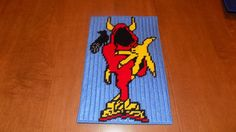 Wrath2 Joker card wall hanging by TmSalesCreations on Etsy