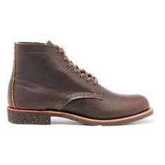 Red Wing Men's Merchant Leather Lace Up Boots (€290) ❤ liked on Polyvore featuring men's fashion, men's shoes, men's boots, men's work boots, brown, mens leather work boots, mens work boots, mens leather lace up boots, mens boots and mens lace up boots
