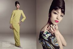 modelo chinesa Fei Fei Sun