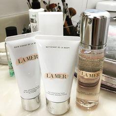 Creme De La Mer Foam Wash, Exfoliant & Toner #kesthetics #kayepabon #skinspecialist #beautyspecialist