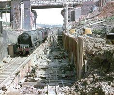 46235 City of Birmingham, Rugby Diesel Locomotive, Steam Locomotive, Steam Trains Uk, Things To Do Inside, City Of Birmingham, Steam Railway, Model Trains, Toy Trains, Train Art