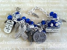 Air Force Charm Bracelet