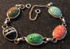 Scarab Bracelet Vintage by HollyPuppysAngels on Etsy My Childhood Memories, Sweet Memories, Vintage Toys, Etsy Vintage, Scarab Bracelet, Stunning Eyes, My Memory, The Good Old Days, Vintage Colors