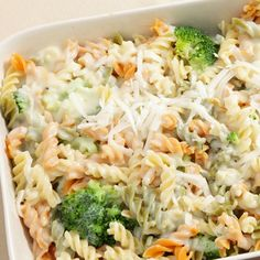 Easy to make, great to eat, try this recipe for Fusilli Alfredo Bake