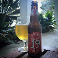Friday, January 16, 2015: Anniversary 19 Ale Session #IPA, Victory Brewing Company.   http://www.victorybeer.com/beers/anniversary-19-ale/   #PA #CraftBeer #SessionIPA