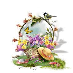 """My Garden Basket"" by michiganmolly on Polyvore"