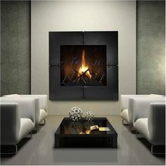 CHIMENEA..Homesandlifestylemedia.com #fireplace #design