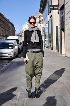 womenswear, baggy pants