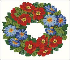 Gallery.ru / Фото #88 - Вышиванки - radost68 Cross Stitch Designs, Cross Stitch Patterns, Cross Stitching, Cross Stitch Embroidery, Bunch Of Flowers, Cross Stitch Flowers, Christmas Cross, Amazing Flowers, Needlepoint