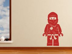 I'v been looking everywhere for Lego ninjago room decor. can't wait to get this!