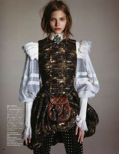 Sasha Luss by Luigi & Daniele + Iango for Vogue Japan