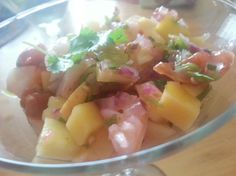 Shrimp Ceviche with Mango