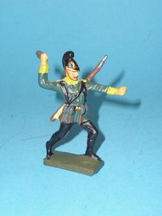 2381 – Lineol Soldat Handgranate werfend 7,5cm Serie Sehr Gut   eBay