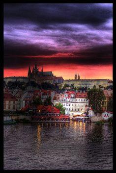 Praga/sunset-