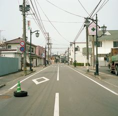3 months later   Nuclear Evacuation Zone  2011 06 12 Namie Fukushima Japan  8km from Fukushima Daiichi Nuclear #places #travel