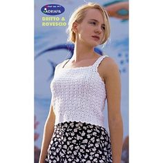 Alba Top in Adriafil Cheope - Downloadable PDF. Discover more patterns by Adriafil at LoveKnitting. We stock patterns, yarn, needles and books from all of your favourite brands.