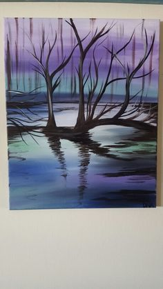 """Candy Land Creek"" DNA acrylic on canvas"
