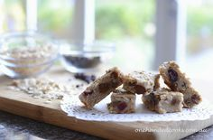 one handed cooks: baby & toddler food: chew-me oat fruit bars