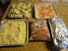 Freezer meals are GREAT gifts for hard-to-buy-for people