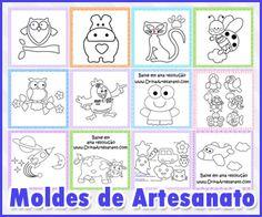 Moldes De Artesanato