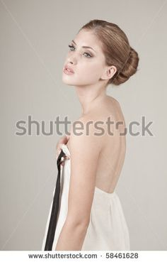 Woman Standing Side View Dress Stock Photos, Images, & Pictures | Shutterstock