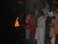 GABS (Ganga Aarti Evam Bhavya Shringar) organised by BIMPS, Welleslyganj, Mirzapur