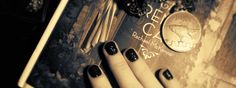 Carbon black glitter nails Black Nails With Glitter, Glitter Nails, Carbon Black, Creativity, Beauty, Glittery Nails, Beauty Illustration