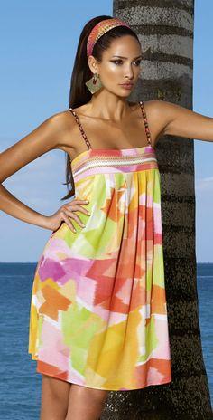 32e61dc6bc Maryan Mehlhorn 2014 Vernissage Cover Up Dress 3709-207-462