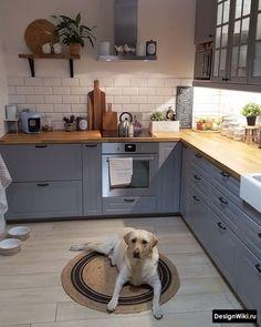 33 Magnificient Small Kitchen Design Ideas On A Budget ~ Beautiful House Home Decor Kitchen, New Kitchen, Interior Design Living Room, Kitchen Dining, Design Interior, Kitchen Ideas, Small Kitchen Appliances, Cool Kitchens, Best Kitchen Designs