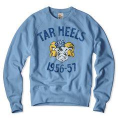 UNC Tar Heels Crewneck Sweatshirt
