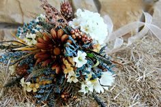 Another country wedding bouquet by Jenn