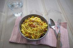LowFODMAP/ LavFODMAP   Spaghetti alla carbonara