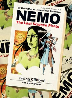 Kevin O'Neill_Nemo the last science pirate