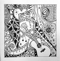 music zentangle