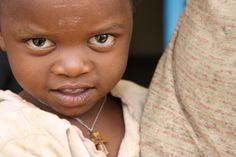 Young village girl. Love her eyes. #rwanda