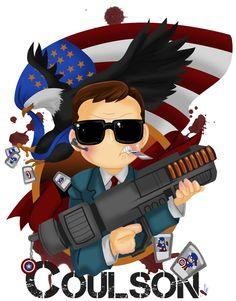 Coulson! He's my superhero.