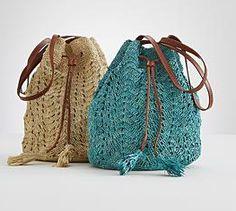 red envelope crochet purse
