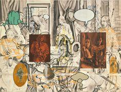 David Salle | Ugolino's Room, 1990-91