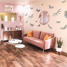Spa Room Decor, Beauty Room Decor, Beauty Salon Decor, Home Decor, Makeup Studio Decor, Nail Salon Decor, Esthetics Room, Eyelash Salon, Lash Room